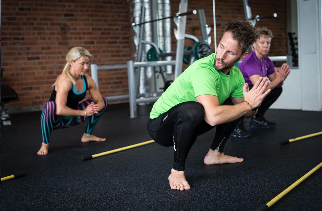 Hälsa på jobbet – rörelseövningar