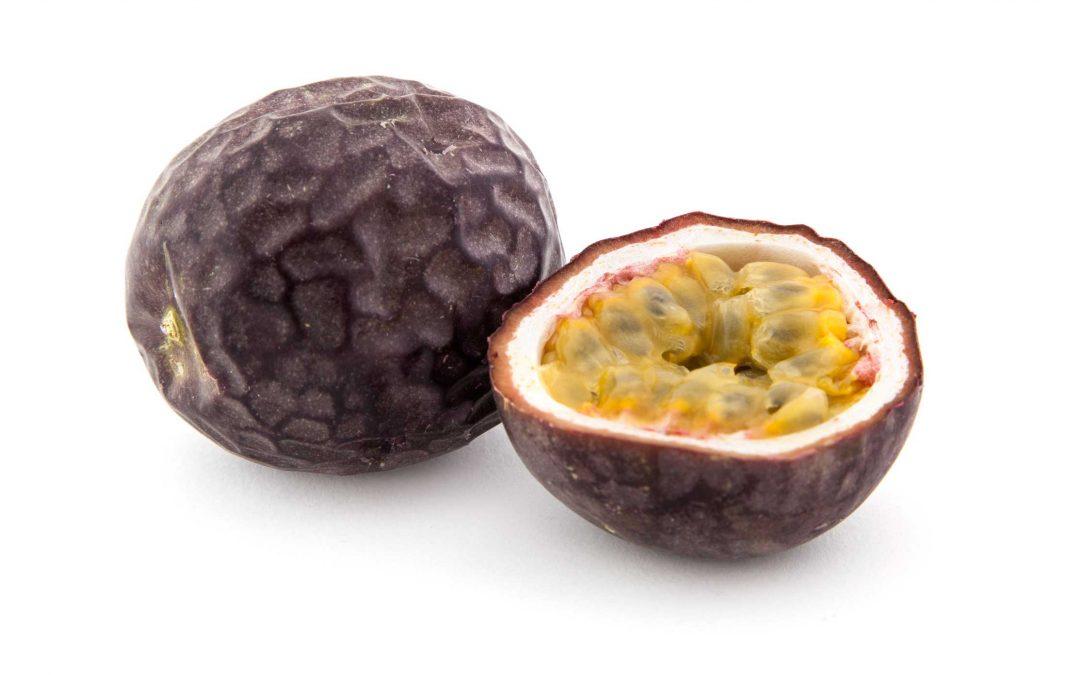 Passionsfrukt – full av fibrer!