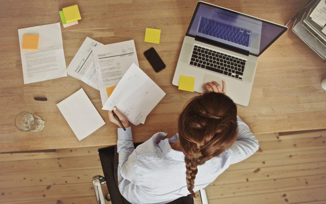 4 övningar som motverkar kontorsskador