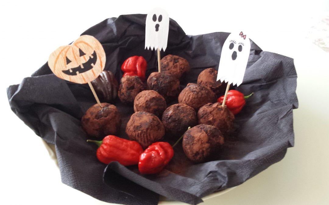 Nyttigt godis till Halloween