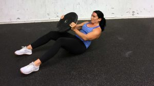 Chop Up Power burpee