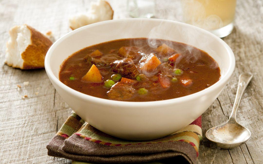 Kjøttfarse- og rotfruktsuppe