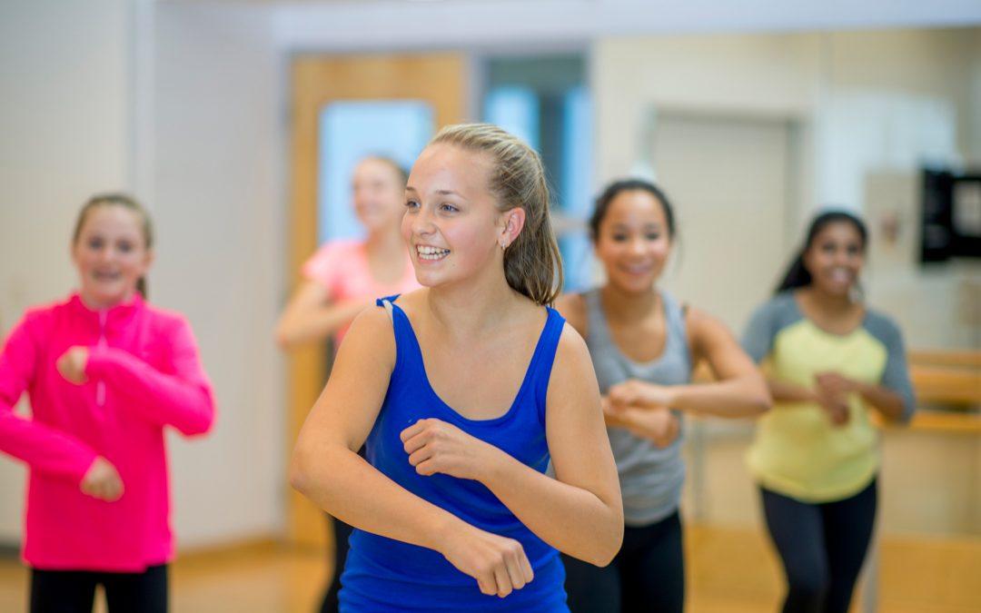Dans hjelper jenter som føler seg dårlig