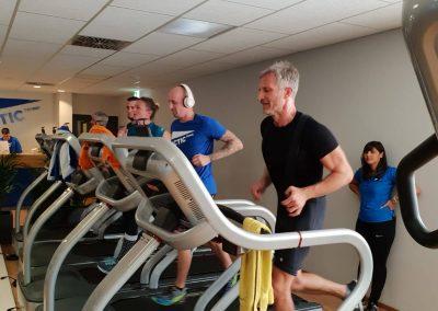 Pirmasens: Die Einzelstarter der Männer geben alles bei der letzen Disziplin, dem 3 km Lauf