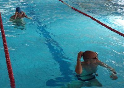 Nach dem Schwimmen geht es für die Teilnehmer sofort aufs Rad